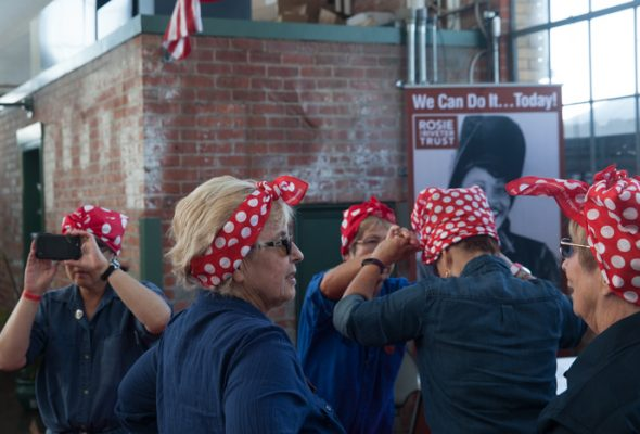Rosie the Riveter Rally-6209